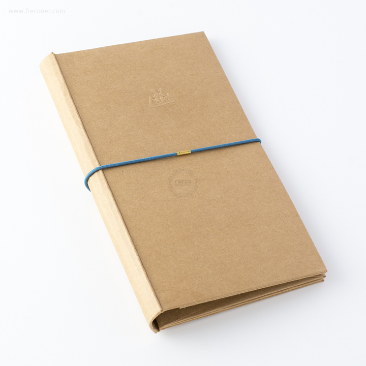 台湾 青青文具 KEEP A NOTEBOOK A5 Slim DIY紙製手帳カバー クラフト(CKN-004 A)【ネコポスOK】