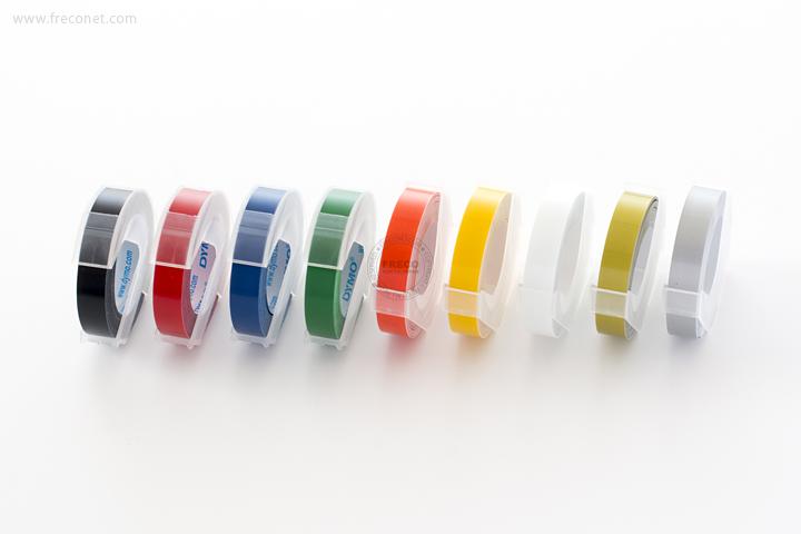 ダイモ 詰め替え用カラーテープ 9mm【ネコポスOK】