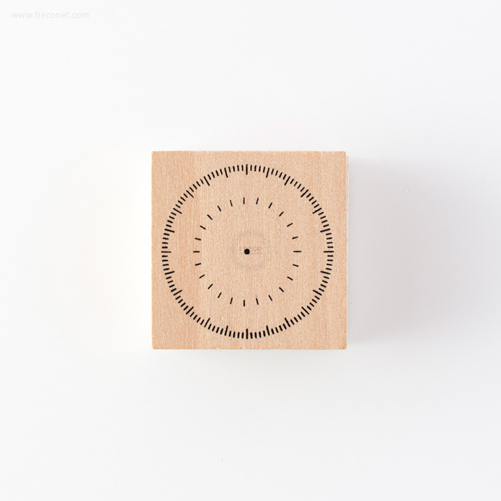 手帳スタンプ 円グラフ(FMK0950)【ネコポスOK】
