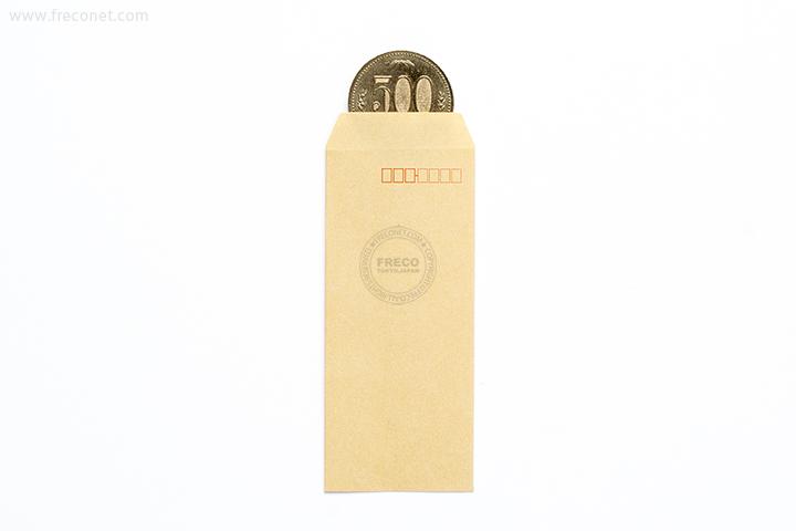 ミニ封筒 / 茶封筒ミニ(FM-N4)【ネコポスOK】