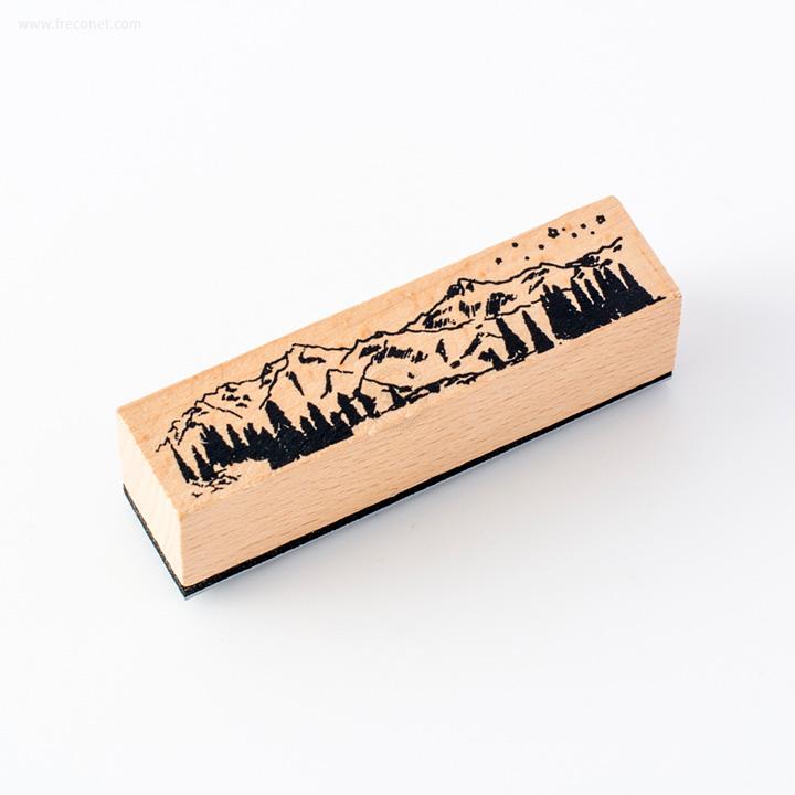 手帳デコスタンプ 山々(FSG3387)【ネコポスOK】