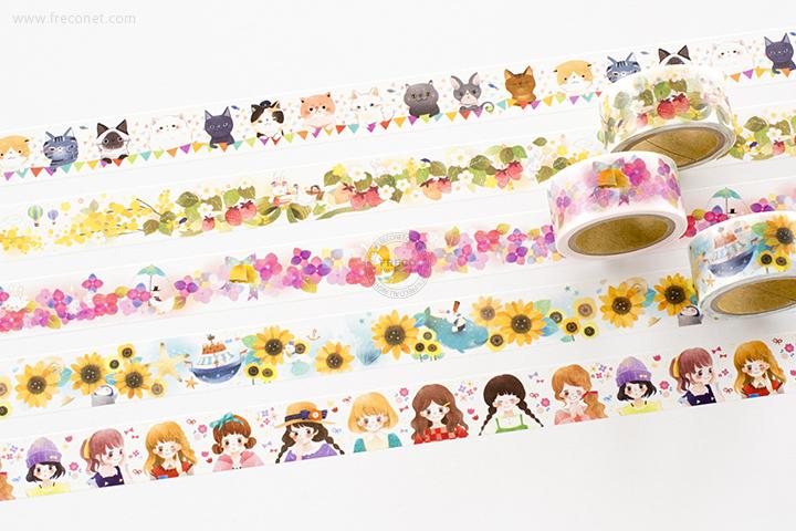 星空百貨マスキングテープ 7th おまとめパック(HH-YK01~05)【ネコポスOK】