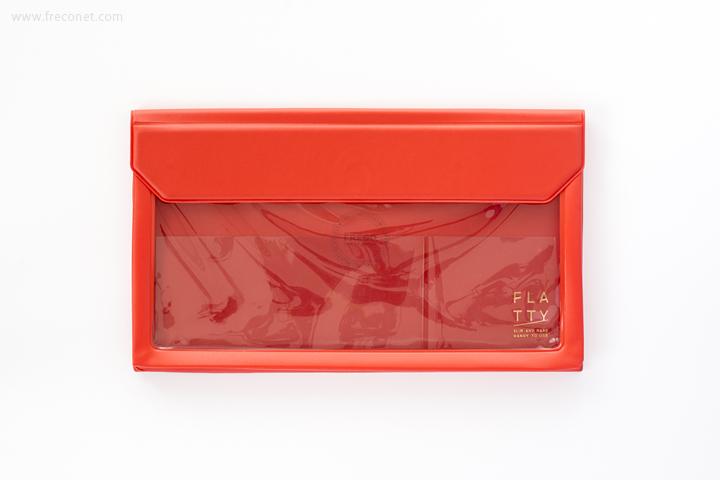 キングジム FLATTY フラッティ 封筒サイズ アカ(5362)【ネコポスOK】