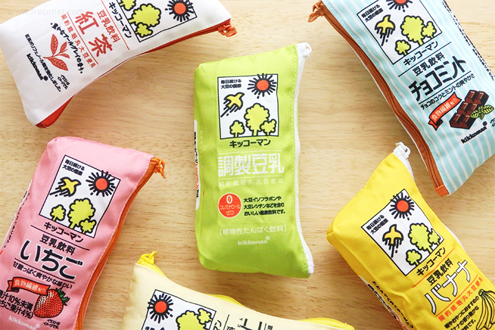 キッコーマン豆乳ミニポーチ 6柄コンプリートセット【ネコポスOK】