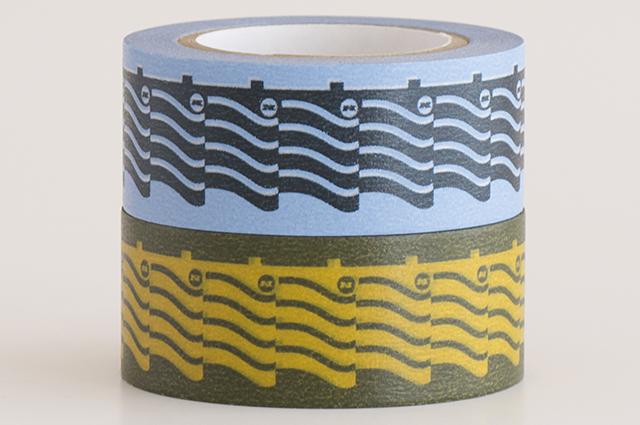 遊中川×House Industriesマスキングテープ ROOF(1199-0086-203)【ネコポスOK】