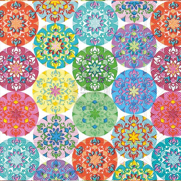 Paper+Design ペーパーナプキン <ランチ> Mandala multi(21199)【ネコポスOK】