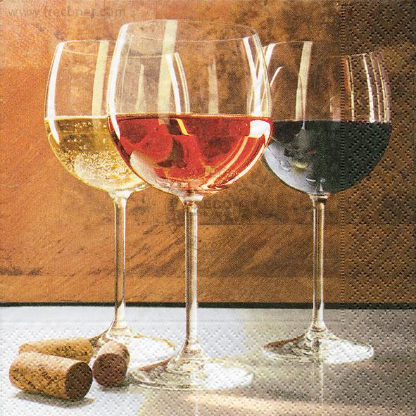 Paper+Design ペーパーナプキン <ランチ> World of wine(21614)【ネコポスOK】