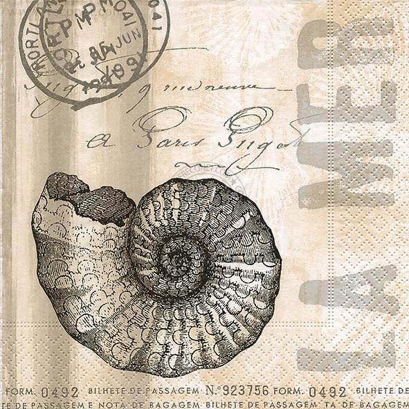 Paper+Design ペーパーナプキン <ランチ> La mer(21773)【ネコポスOK】