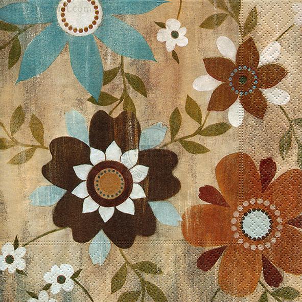 Paper+Design ペーパーナプキン <ランチ> Flower carpet(21785)【ネコポスOK】