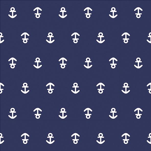 Paper+Design ペーパーナプキン <ランチ> Anchor dark blue(21976)【ネコポスOK】