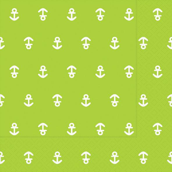 Paper+Design ペーパーナプキン <ランチ> Anchor kiwi(21978)【ネコポスOK】