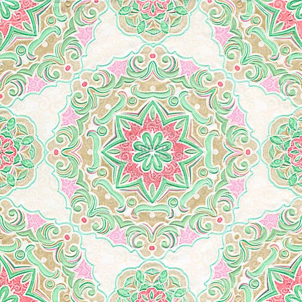 Paper+Design ペーパーナプキン <ランチ> Kaleidoscope(24059)【宅急便配送】