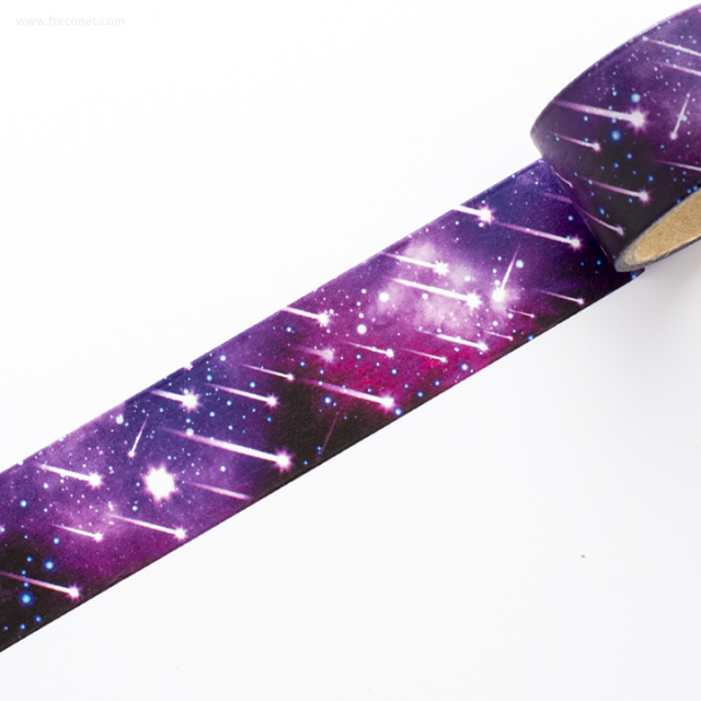 デザインマスキングテープ コズミック 彗星パープル(45604)【宅急便配送】