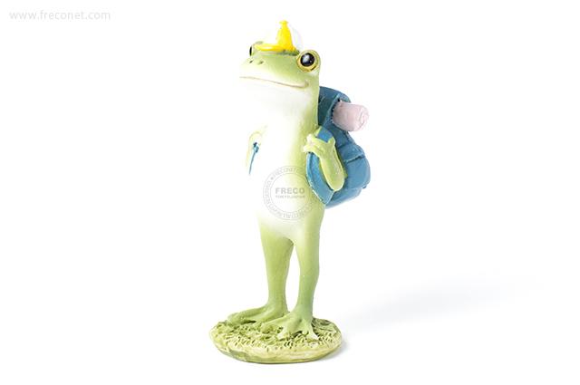 Copeau リュックを背負うカエル(70066)【宅急便配送】