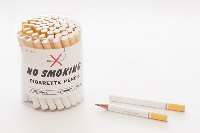 たばこ鉛筆 ノースモーキング 60本入 ケース付き(A-111)【宅急便配送】