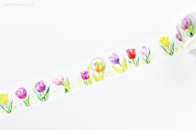 自己印マスキングテープ tulip【宅急便配送】
