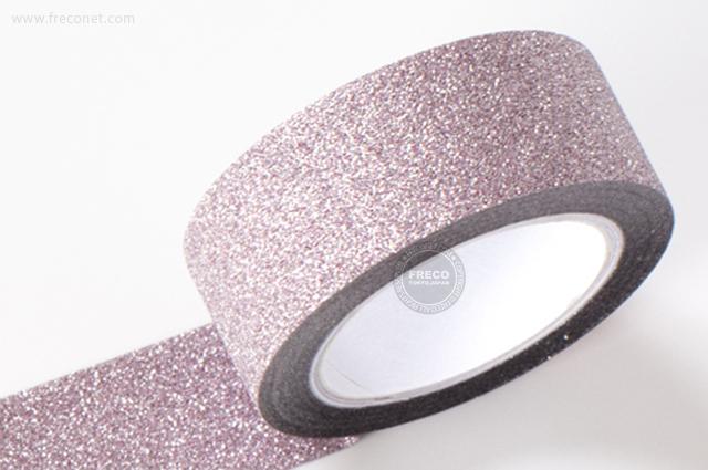 グリッターテープ プレーン/ライトピンク(AR0817009)【ネコポスOK】