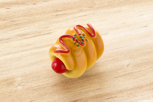 パンマグネット ソーセージパン(b075)【ネコポスOK】