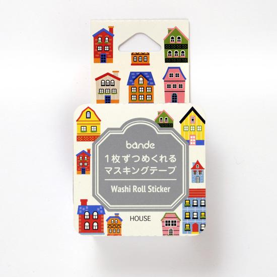 bande マスキングロールステッカー HOUSE(BDA 277)【ネコポスOK】
