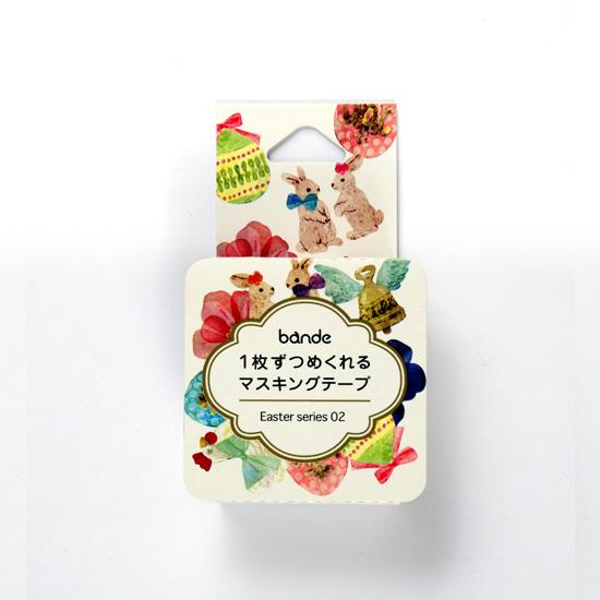 bande マスキングロールステッカー Easter series 02(BDA405)【ネコポスOK】