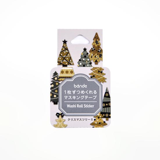 bande マスキングロールステッカー クリスマスツリー2(BDA498)【ネコポスOK】