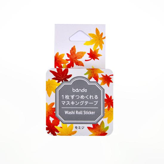 bande マスキングロールステッカー モミジ(BDA500)【ネコポスOK】