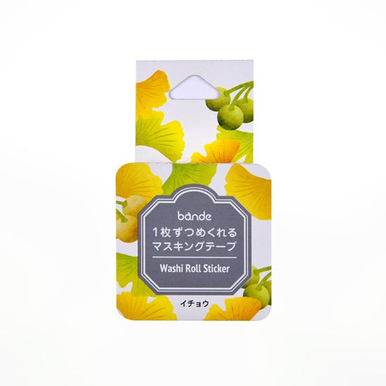 bande マスキングロールステッカー イチョウ(BDA501)【ネコポスOK】