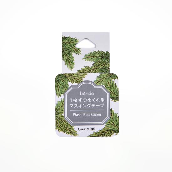 bande マスキングロールステッカー もみの木(葉)(BDA503)【ネコポスOK】