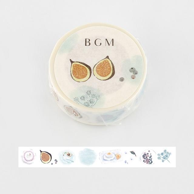 BGMマスキングテープ Life 15mm パッションフルーツ(BM-LA052)【ネコポスOK】
