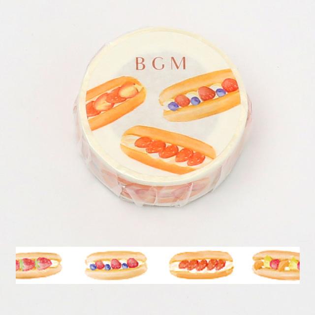 《ご予約商品・18日より順次発送》BGMマスキングテープ 15mm コッペパン(BM-LA055)【ネコポスOK】