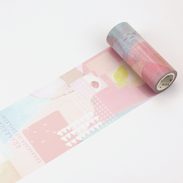BGMマスキングテープ Life 100mm 少女の夢(BM-LP005)【宅急便配送】