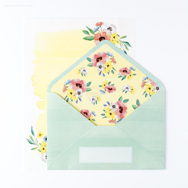 ブルームレターセット グリーン(BMLS01-GR)【ネコポスOK】