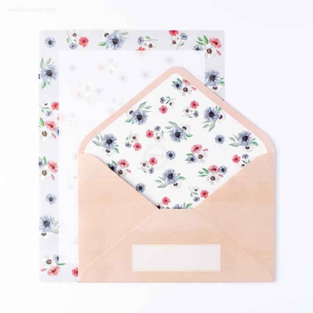 ブルームレターセット ピンク(BMLS01-PK)【ネコポスOK】