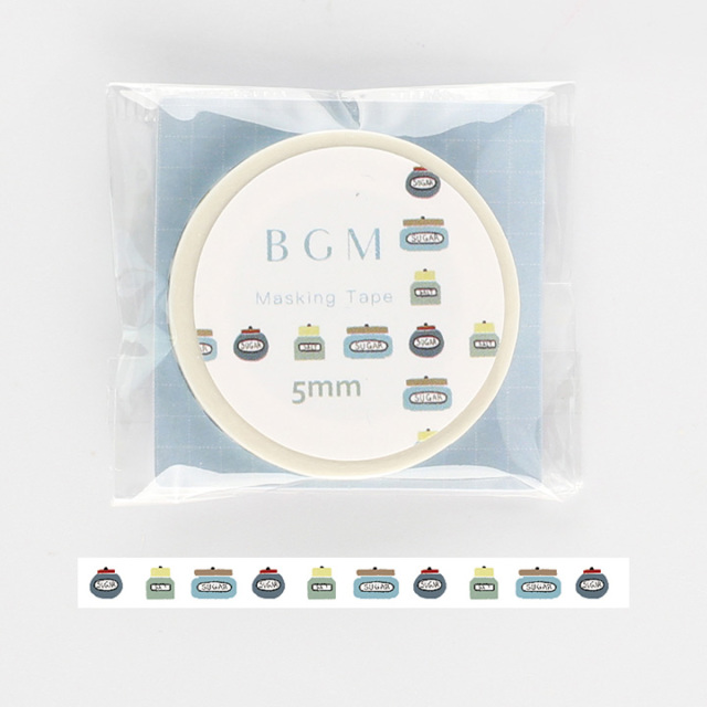 BGMマスキングテープ Life 瓶(BM-LS031)【ネコポスOK】