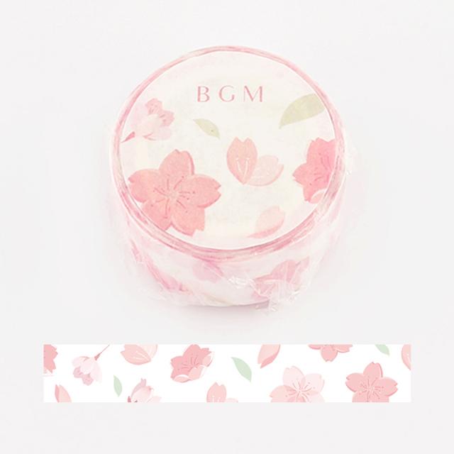 BGMマスキングテープ スペシャル 桜 舞い桜(BM-SPSA007)【ネコポスOK】
