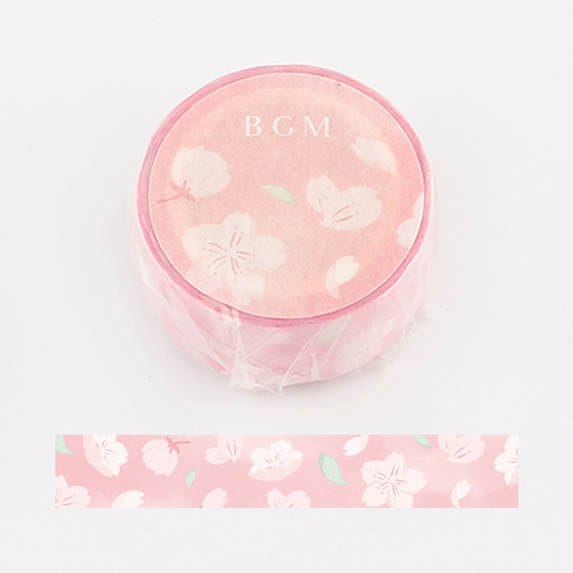 BGMマスキングテープ スペシャル 桜 桜狩り(BM-SPSA008)【ネコポスOK】