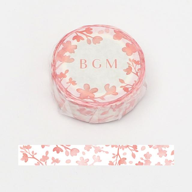 《ご予約商品・18日より順次発送》BGMマスキングテープ 15mm 徒桜(BM-SPSA013)【ネコポスOK】