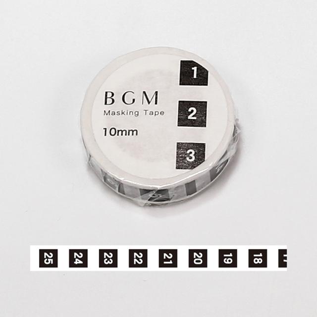 BGMマスキングテープ スペシャル ツカイ 日々・日付4(BM-SPT013)【ネコポスOK】