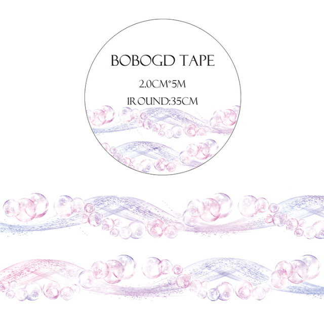 BOBOGDマスキングテープ 流珠【ネコポスOK】