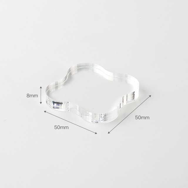 BGMクリアスタンプ用アクリルブロック S(BT-AB002)【ネコポスOK】