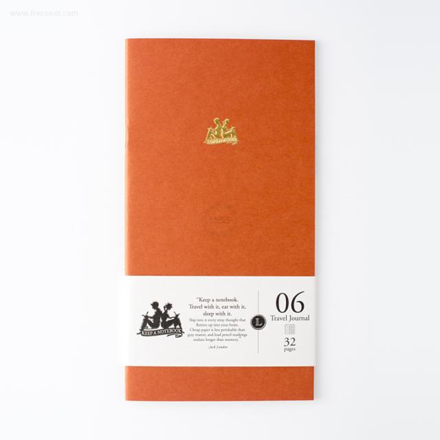 台湾 青青文具 KEEP A NOTEBOOK A5 Slim 機能性ノート トラベルジャーナル 世界版(CKN-001 F)【ネコポスOK】
