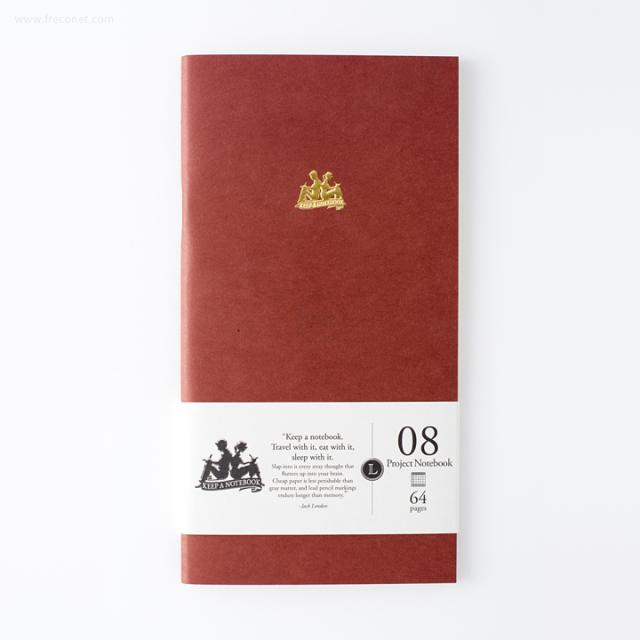 台湾 青青文具 KEEP A NOTEBOOK A5 Slim 機能性ノート プロジェクト(CKN-001 H)【ネコポスOK】