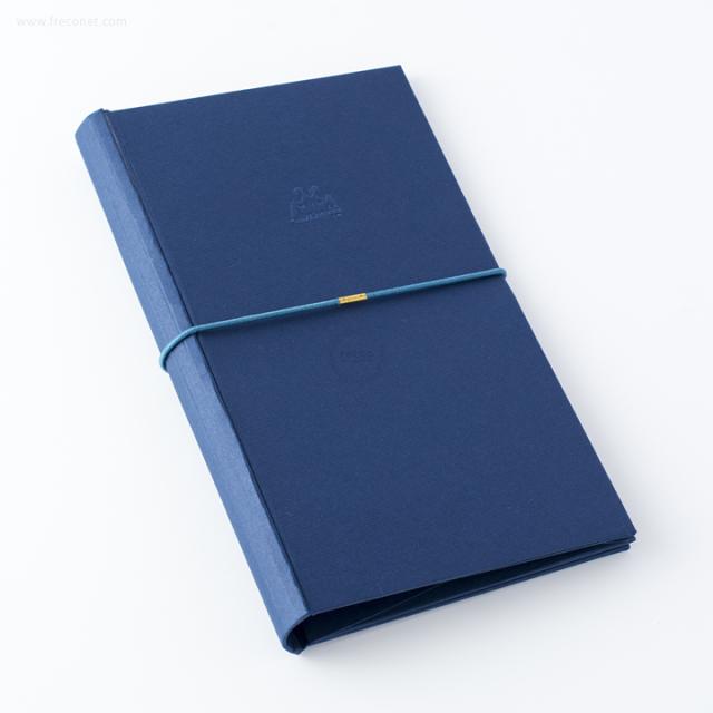 台湾 青青文具 KEEP A NOTEBOOK A5 Slim DIY紙製手帳カバー ロイヤルブルー(CKN-004 C)【ネコポスOK】