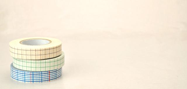倉敷意匠 マスキングテープ 方眼(12mm)【メール便OK】