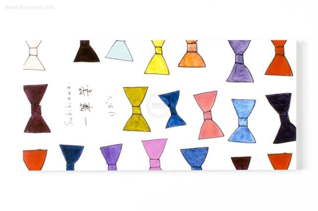 Subikiawa 一筆箋 リボン(23-810)【ネコポスOK】
