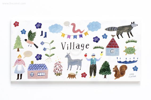 Aiko Fukawa 一筆箋 Village(23-894-350)【ネコポスOK】