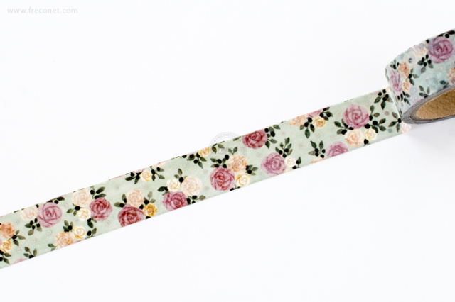 Tomoko Hayashi マスキングテープ Classical Rose(MT-13117)【クロネコDM便OK】