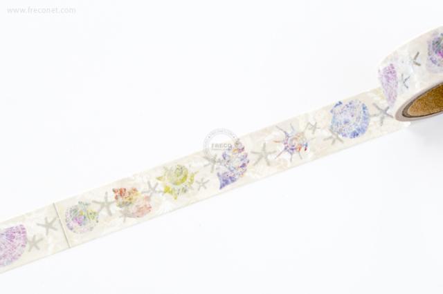 Tomoko Hayashi マスキングテープ SEASHELL(MT-13120)【クロネコDM便OK】