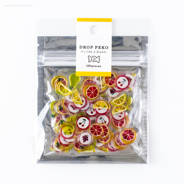 DROP PEKOシール カラフルフルーツ(05480)【ネコポスOK】