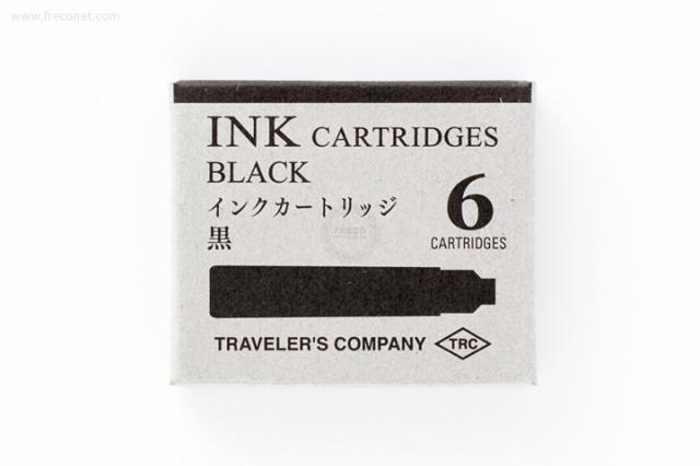 TRC ブラス 万年筆用インクカートリッジ 黒(38072-006)【ネコポスOK】